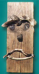 "A Cecil Original - ""Snake River Man"", Driftwood, Click for Larger Image"