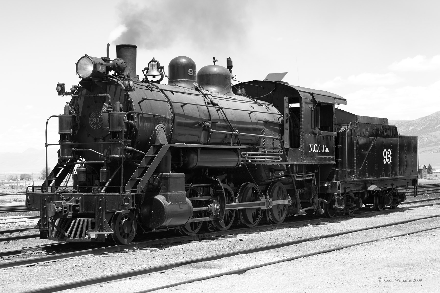 steam locomotive 93 in ely nevada built in 1909 description 1299 steam